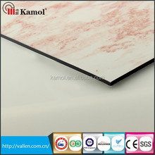 3mm panel thickness stone composite panels aluminum composite board