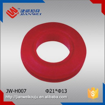 Red O Ring Belt Buckle Plastic Fashion Decorate Circular Dress Buckle JW-H007