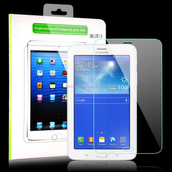New Tempered Glass LCD Screen Protector Film For Samsung Galaxy Tab 3 Lite 7.0