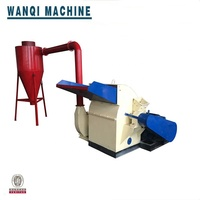 Two inlet and large capacity wood crusher/ nail wooden pallet crusher machine supplier