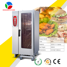 kitchen equipment 20 Trays Roll In Commercial Steam Oven/Combi Oven Combi Steamer with Boiler