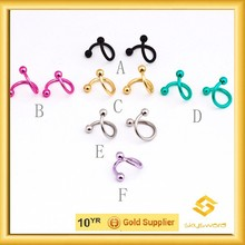 high quality wholesale body jewelry no minimum order in low price