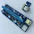 60CM Mini PCIE Express Riser 1X to 16X to USB 3.0 Cable 6pin pci-e Riser USB for bitcoin mining