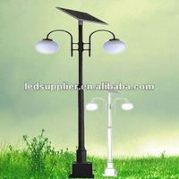 best price 40W 3.5M Solar Garden Light Circuit with 2 pcs of 5W panel