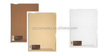 New brand pp document file folder plastic stationery file dual purpose document folder