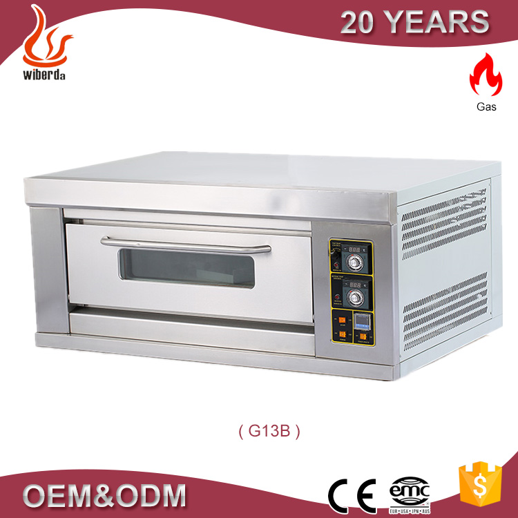 Commercial bakery deck oven /bread oven/pizza ovenfor sale by oven factory