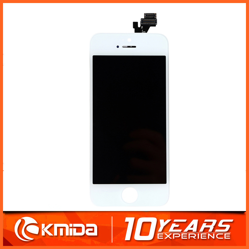 KMD TOP quality replacement for iPhone 5 lcd with touch digitizer