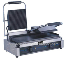 GRILLER - ELECTRIC PANINI SANDWICH PRESS GRILLER 2-HEAD