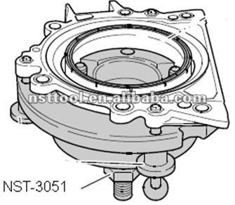 NST-3051 Assembly Tool for VW Flange Tool T10134