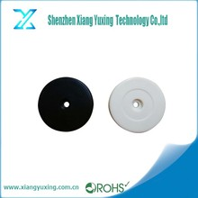13.56 mhz round coin RFID ntag213 / ntag215 / ntag216 anti metal nfc tag for asset tracking
