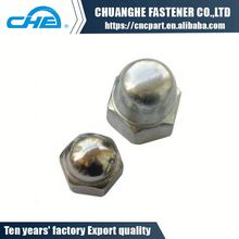 High quality carbon steel domed head cap nut