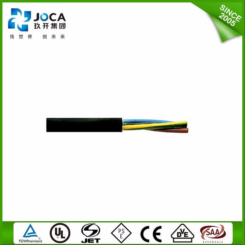 1.5Mm Soft Rubber Jhs Vde H03rn-F Flexible Cables