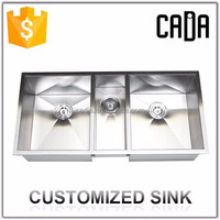 undermount one piece 3 base sink stainless kitchen utensils hot items for canada
