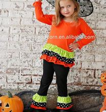 Latest Baby Pumpkin Clothing Sets Charming Kids Halloween Outfits For Kids