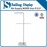 Stainless Steel Floor Display POP Poster Stand