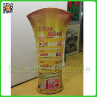 Deluxe custom modular display banner fabric tension tower