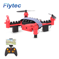 Flytec T11S DIY Blocks Drone With 0.3MP Camera Altitude Hode Wifi FPV Mini Pocket Drone