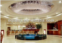 Luxrious modern large round ceiling lamp for hotel hall made in China