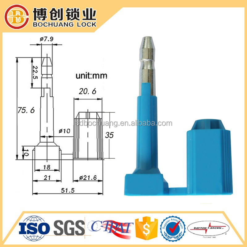 container door bolt seal tamper proof security seal
