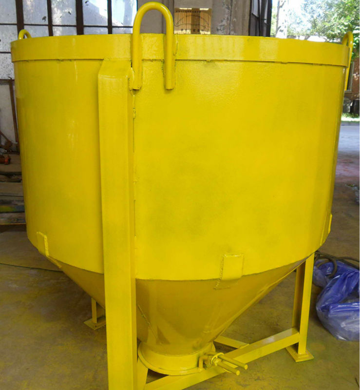 high quality widely used crane concrete bucket 1m3 for sale