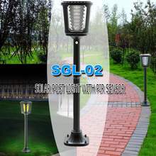 Fiber Optic Outdoor Small Street Solar Light System For Garden