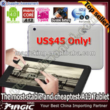 New arrival 7 android 4.0 cover cases for smart car pc android 4.0 smart pc