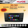 ANDROID 4.4.4 QUAD CORE 16GB 1024*600 MIRROR LINK REAR MONITOR SUPPORT w211 car radio