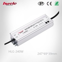 LED driver HLG 240W waterproof power supply IP67 adjustable PFC function high quality high warranty KC CE ROHS approved