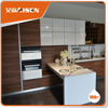 With 9 years experience china import flat pack cheap modern mdf laminate kitchen cabinet
