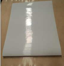 mirror coated self adhesive paper in sheets 20''*30'' MANUFACTORY