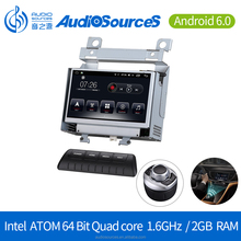 Android 6.0.1 GPS Navigation System with Carplay Bluetooth Dual-zone Car DVD Player for Landrover Freelander 2