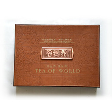 Customize Luxury Art Paper tea gift box with dividers