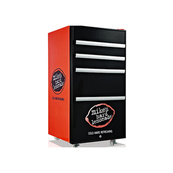 98Liter solid door table top mini drink cooler with Customized Logo