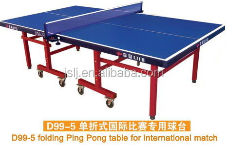 China Single Folding OEM Table Tennis Table,2015 Newest Ping-Pong Table Tennis Dimension,Moveable,Foldable Table Sports For Sale