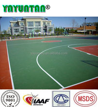 Full pu outdoor tennis court flooring material for sale