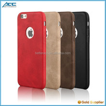Super thin leather case for iPhone 6s