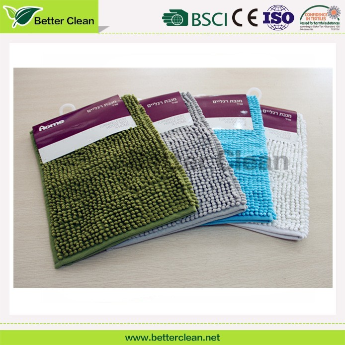 For hotel entrance door floor keep cleaning microfiber chenille ground custom mat padding rugs and carpets