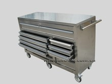 Guangdong Factory Sale Reparing Shop Stainless Steel Toolbox