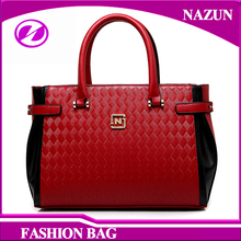 hot sale custom designer no brand soft PU leather ladies cheap price wholesale handbag