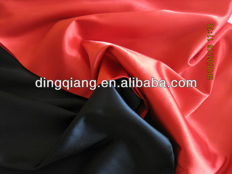 "cheap price, 58"" Poly Fabric, 100% Polyester Satin Fabric wholesale for elegant evening dress/Gift Lining"