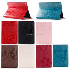 Colorful Crocodile Wallet Folio Leather Case for iPad Pro 12.9