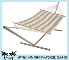 garden camping hammock with steel stand
