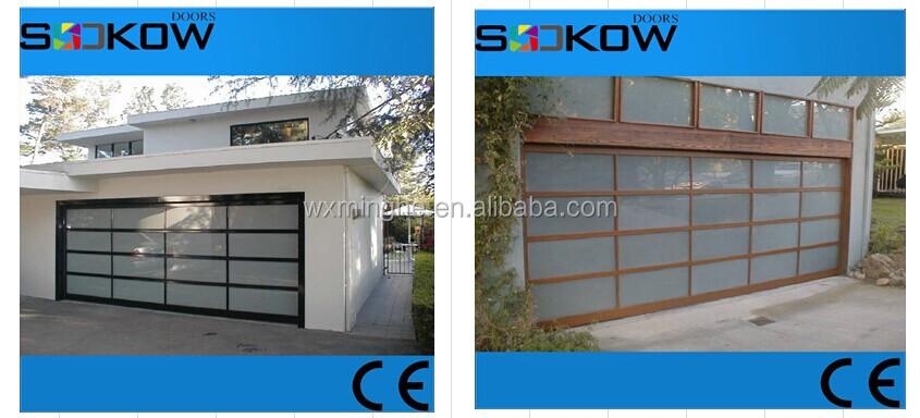 Residential Aluminum Overhead Doorpolycarbonate Garage Door Prices