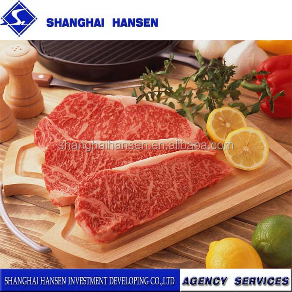 beef striploin import agency services for customs clearance