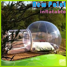 New Point high quality inflatable clear bubble tent ,inflatable transparent tent