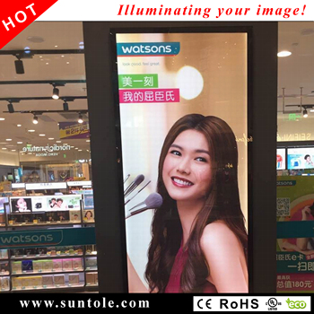 Magnetic slim lightbox WD10-1M advertising lightboxes