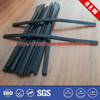 Extruded flexible container rubber cord