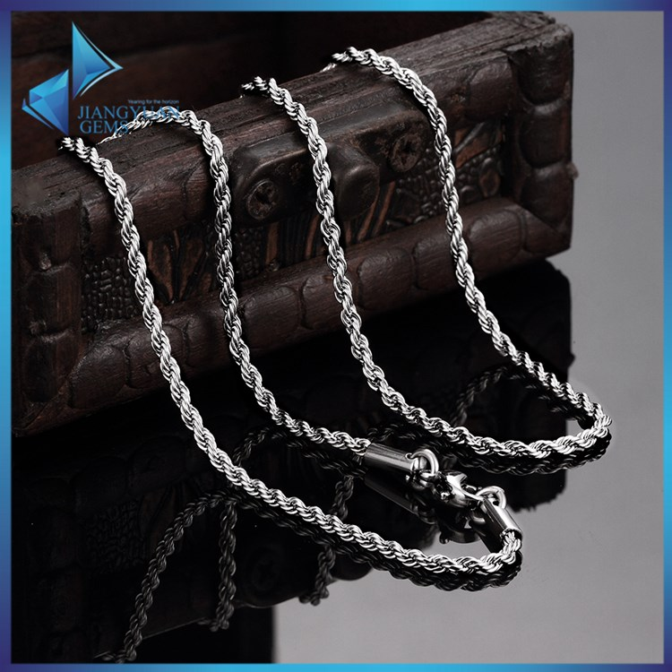 JYSZN0397 Basic no pendant stainless steel jewelry chain