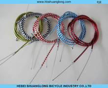high quality colorful bicycle brake cable/bike brake cable/brake cable inner wire