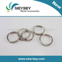 Wholesale promotional keyring flat MKP as key chain parts